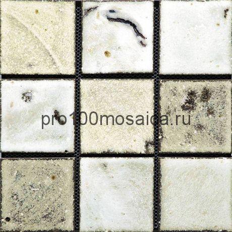 Rust-41(9). Мозаика 96x96x10, серия RUSTICO,  размер, мм: 300*300 (GAUDI)
