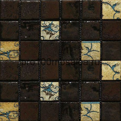 Vint-25(4). Мозаика 45x45x10, серия VINTAGE,  размер, мм: 284*284 (GAUDI)