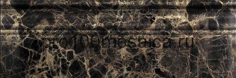 B022-4 Emperador Dark Бордюр мрамор (100х305х20 мм) (NATURAL)