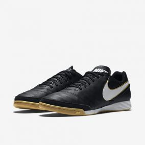 Игровая обувь для зала NIKE TIEMPO GENIO II LEATHER IC 819215-010 SR.