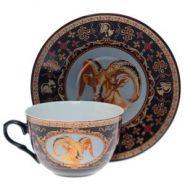 Чашка (270 мл) с блюдцем (арт. 687000)