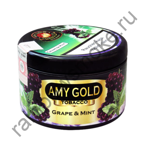 AMY Gold 200 гр - Grape Mint (Виноград с Мятой)