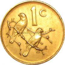 ЮАР 1 цент 1976 г.