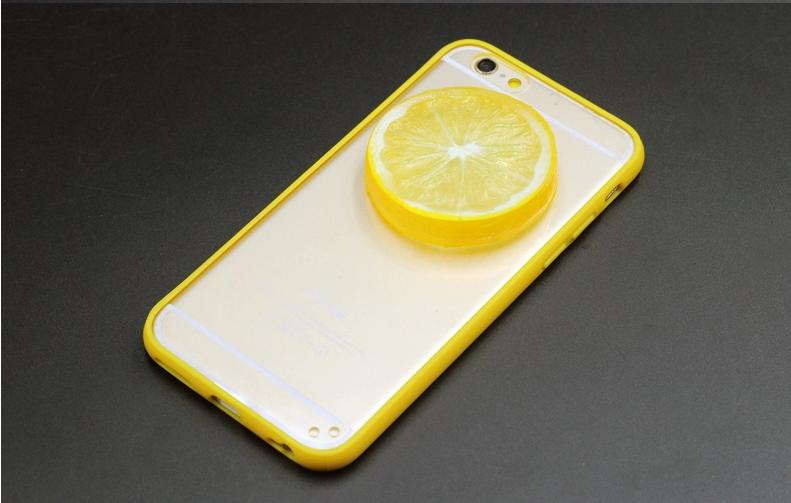 Чехол для Iphone 6/6s с лимоном 3d