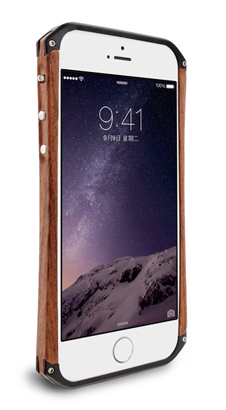 Element Case Ronin wood case iPhone 6plus / 6s plus (черный)