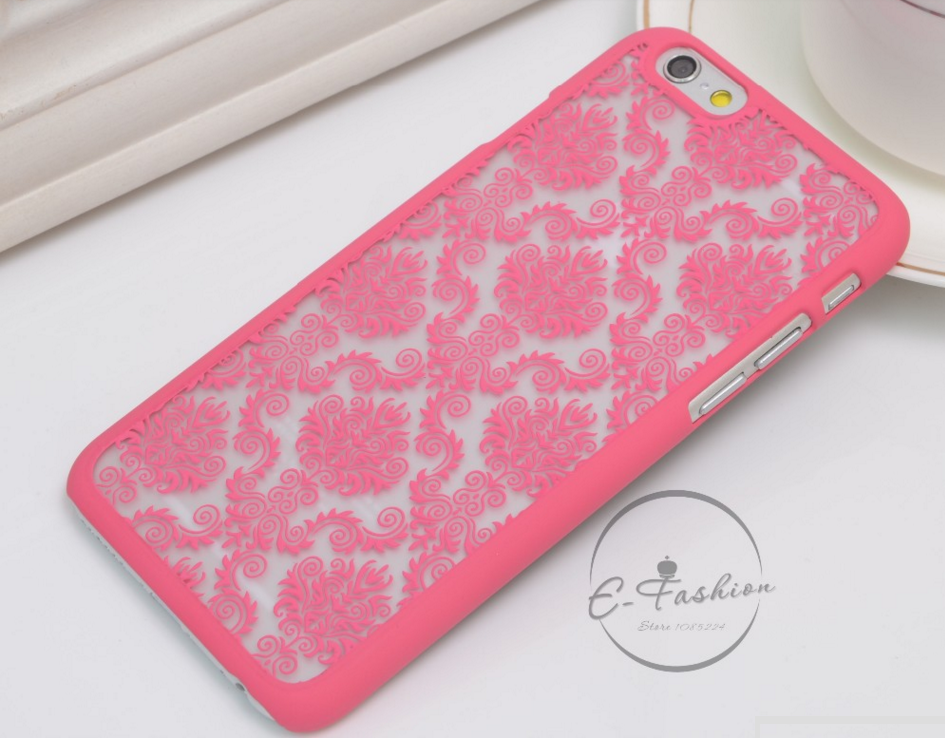 Чехол Luoya с узором для Iphone 7/8 (розовый)
