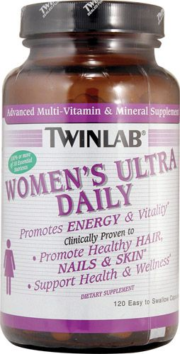 Twinlab - Women's Ultra Multi Daily (120 капс)
