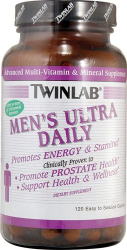 Twinlab - Men's Ultra Multi Daily (120 капс)