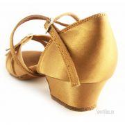 Туфли для танцев для девочки, сатин