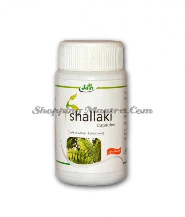 Шаллаки для здоровья суставов в капсулах Джайн Аюрведик / Jain Ayurvedic Shallaki Capsules