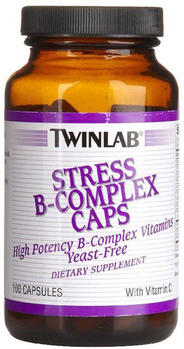Twinlab - Stress B-Complex (100 капс)