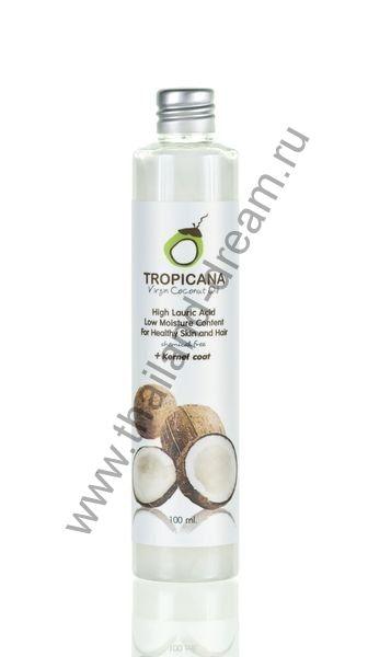 Кокосовое масло холодного отжима Tropicana 100мл