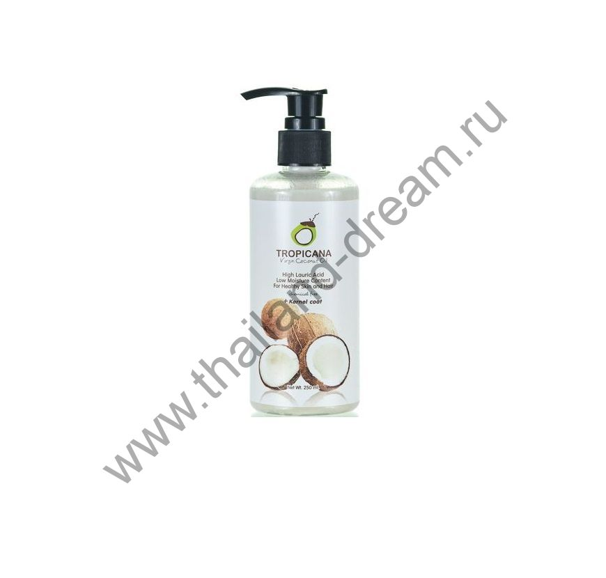 Кокосовое масло холодного отжима Tropicana 250мл