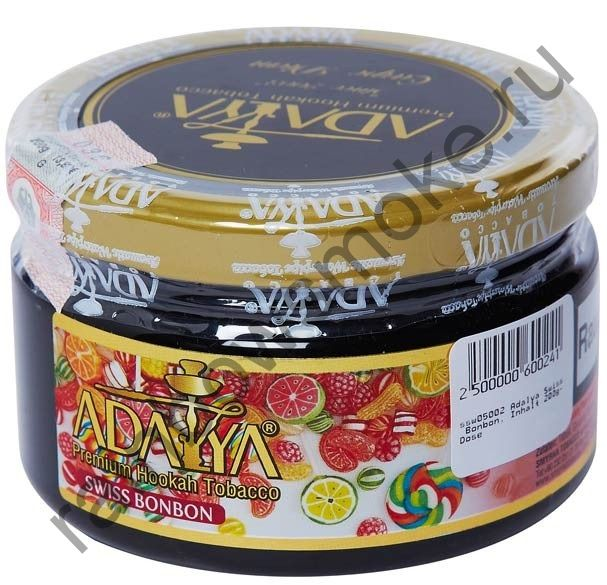Adalya 250 гр - Swiss Bonbon (Мятные Леденцы)