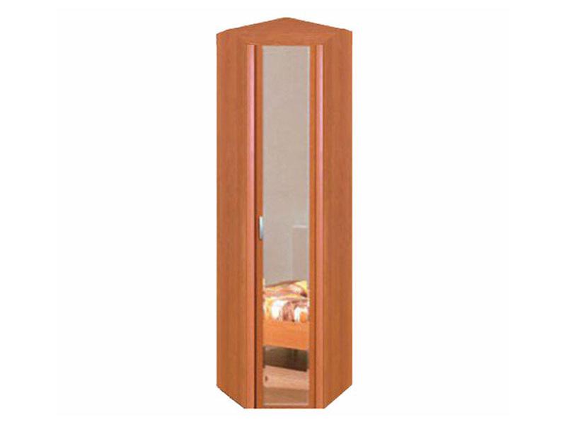 Шкаф угловой для одежды с зеркалом 8.05