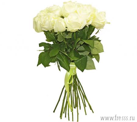 """Букет роз """"Белоснежные розы"""""""