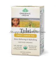 Чай Тулси Сладкий Лимон Органик Индия / Organic India Tulsi Sweet Lemon Tea