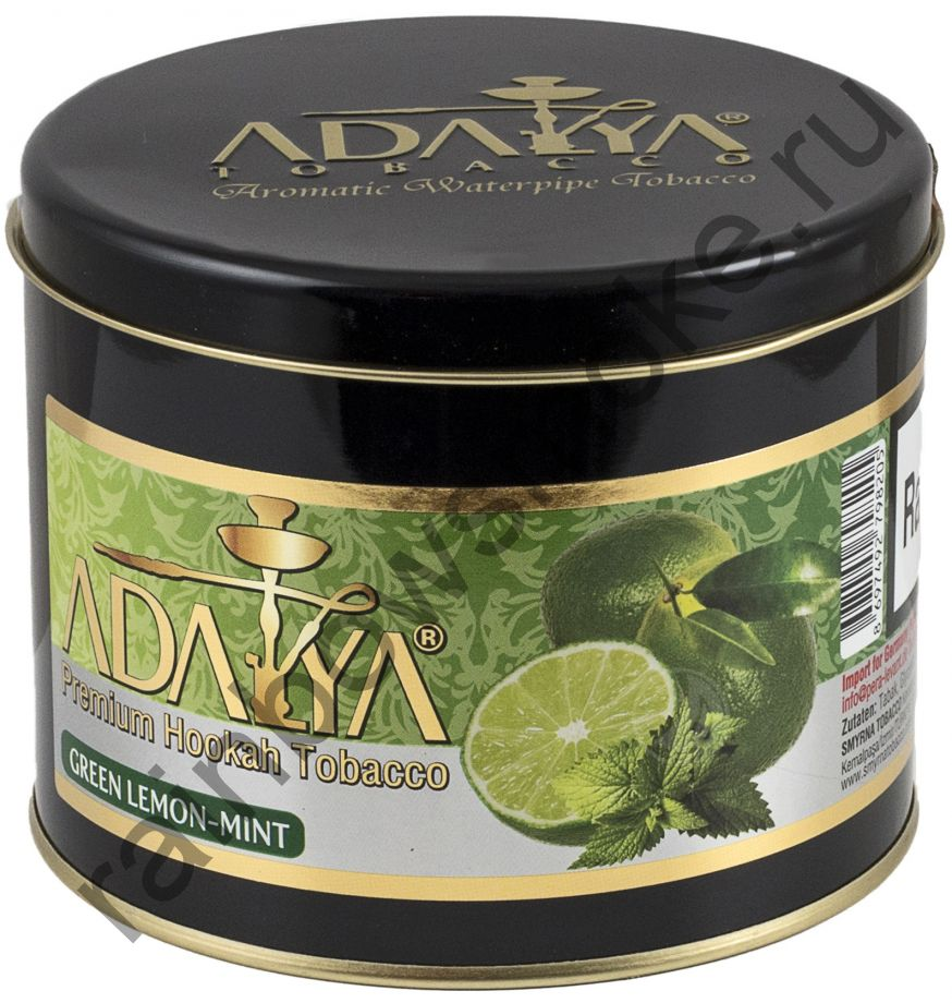 Adalya 1 кг - Green Lemon Mint (Зелёный лимон с мятой)
