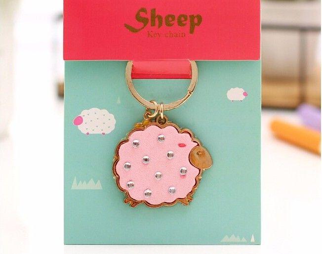 Брелок для ключей «Sheep» - Pink