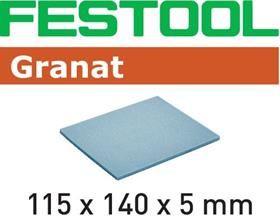 Губка шлифовальная 115x140x5 EF Р500 GR/20