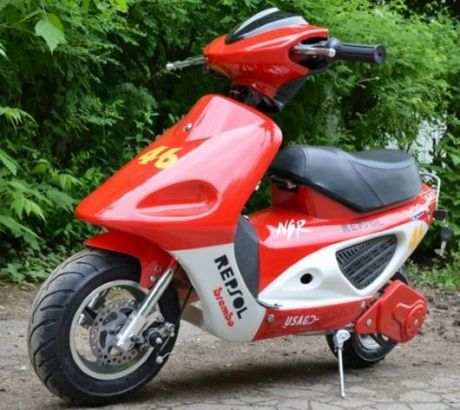 Электрический скутер Joy Automatic LMOOX- R3-Bike 350w