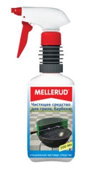 Немецкое чистящее средство для духовок, гриля, барбекю Меллеруд  (Mellerud)