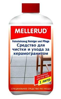 Немецкое средство для чистки и ухода за керамогранитом, глазурованной плиткой, блестящими каменными полами Mellerud (Mellerud)