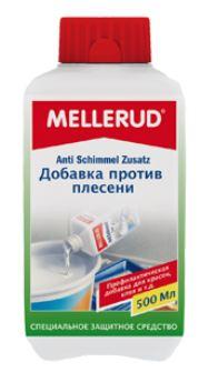 Добавка против плесени, грибка, водорослей и мха для красок, затирок, обойному клею и др. Меллеруд (Mellerud)