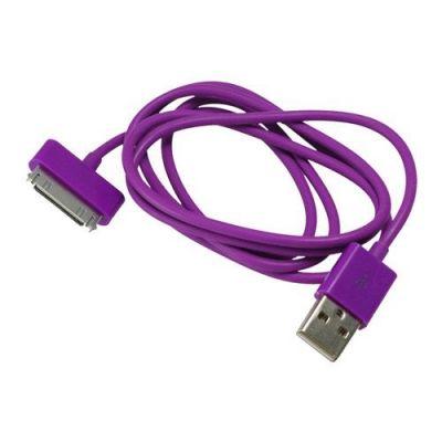 Шнур iPhone 4 - USB Орбита BS-425 цветной (для iPhone4) 1м
