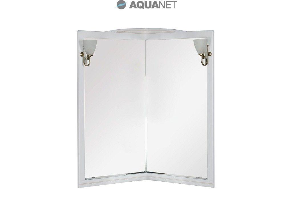 Зеркало Aquanet Луис 70 (001) угловое цвет белый без светильников (171916)
