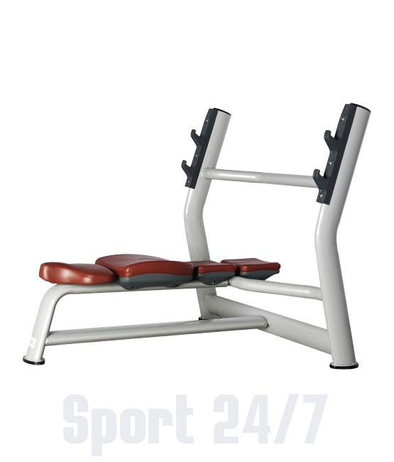Скамья для жима горизонтальная Bronze Gym H-023А