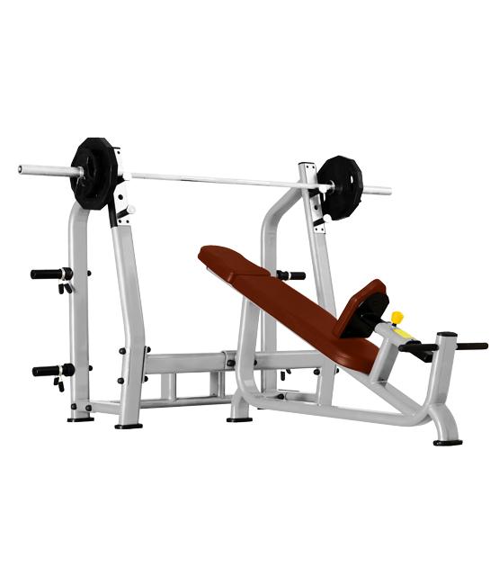 Скамья для жима с положительным наклоном Bronze Gym J-025