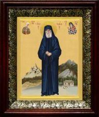 Паисий Святогорец (19х22), темный киот