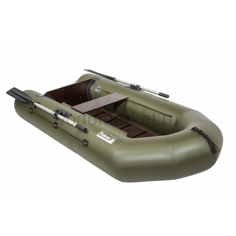 Пеликан 245Т с реечным полом (моторная лодка ПВХ)
