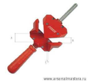 Тиски для угловых соединений (Струбцина угловая) Piher A-30 М00005922
