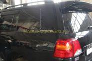 Наклейки на задние стойки (Платинум) для Toyota Land Cruiser 200