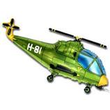 """Фигура """"Вертолет"""" зелёный, 39""""/ 99 см"""