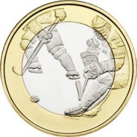 Хоккей 5 евро Финляндия 2016 на заказ