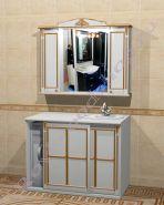 "Мебель для ванной ""Руссильон PROVENCE Комби-L белый"""