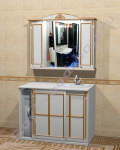 """Комплект для ванной """"Руссильон PROVENCE Комби-L белый""""                         Внимание: узнать цену за выбранный Вами состав можно в свитке """"КОМПЛЕКТАЦИЯ"""""""