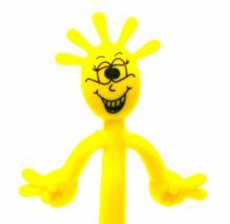 Ручка Человечек желтая