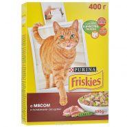 Friskies Сухой корм для кошек Мясо/овощи (400 г)