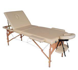Массажный стол DFC Nirvana Relax Pro бежевый (Beige)