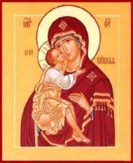 Елецкая икона БМ (рукописная)