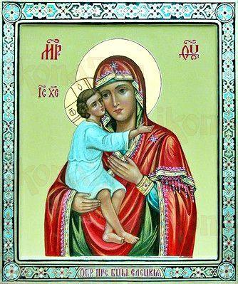 Елецкая икона Божией Матери (рукописная)