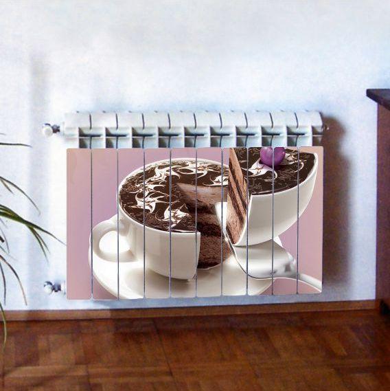 """Фотодекор для радиатора отопления """"Кухня 0005"""""""