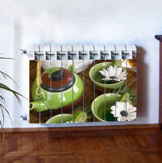 """Фотодекор для радиатора отопления """"Кухня 0010"""""""