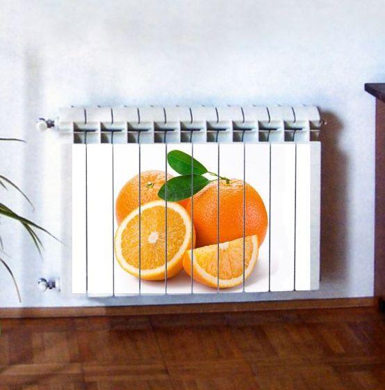 """Фотодекор для радиатора отопления """"Кухня 0012"""""""