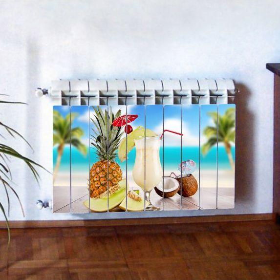 """Фотодекор для радиатора отопления """"Кухня 0013"""""""