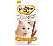 Мнямс Лакомые палочки для кошек с цыпленком и уткой (3х5 г)